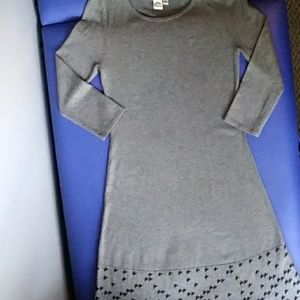 Sangria size small midi long sleeve sweater dress